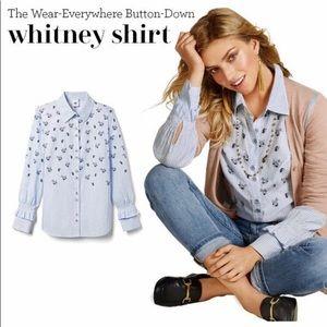 CAbi Whitney Shirt Size Large EUC